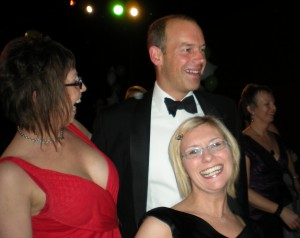 Phil Spencer dances with Made in Sandwell guests