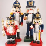 Four nutcrackers
